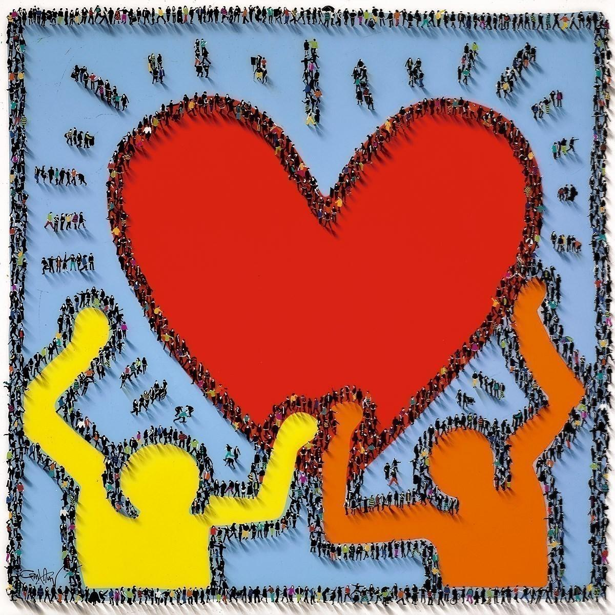 Share the Love by Craig Alan - Limited Edition art print LALN033