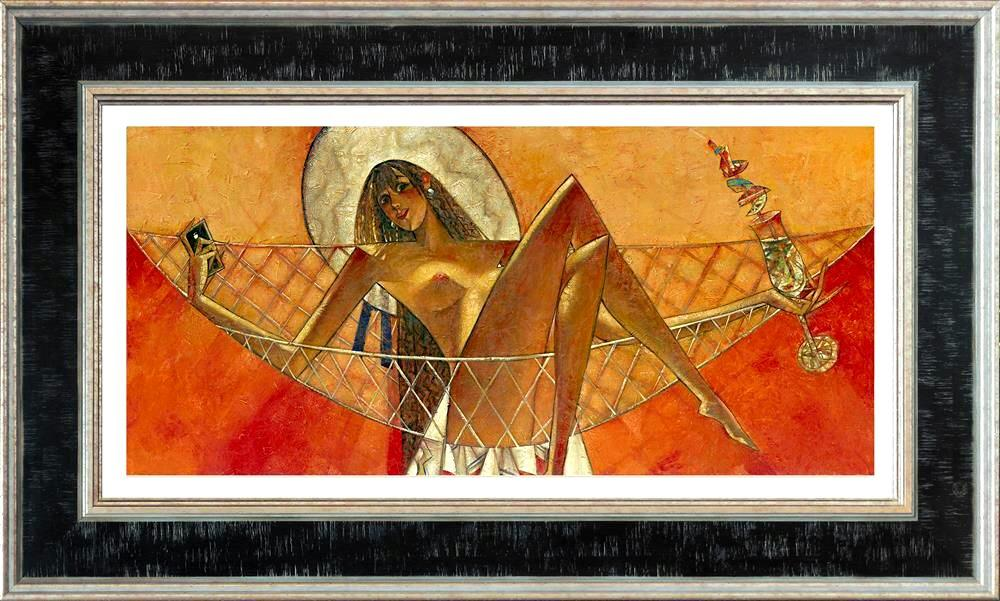 Inter-nets (Small) by Andrei Protsouk - canvas art print APE027S