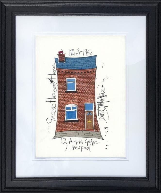 George Harrison's House by Dave Markham - Limited Edition print DME009