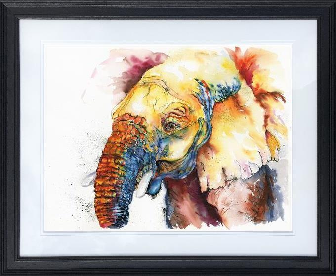 Nosey Nigel (large) by Jos Haigh - Limited Edition art print JGE001