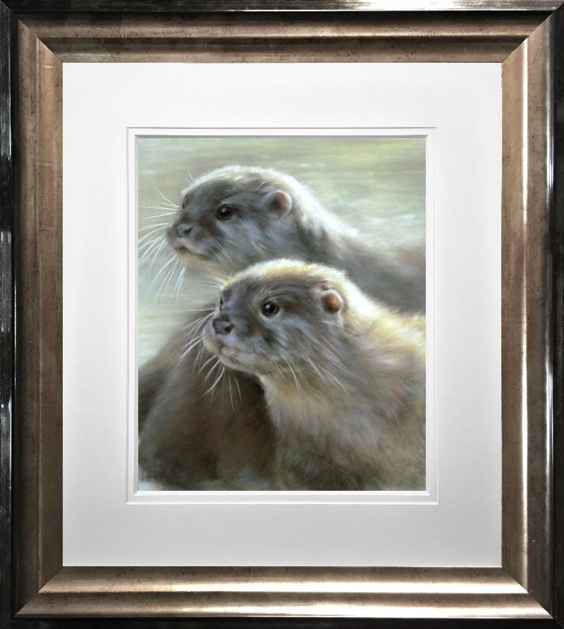 Otters by Vivien Walters - Limited Edition art print VWE003