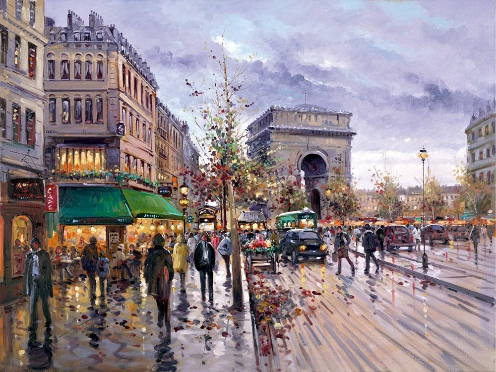 Postcard from Paris by Henderson Cisz - Limited Edition art print ZCIS198