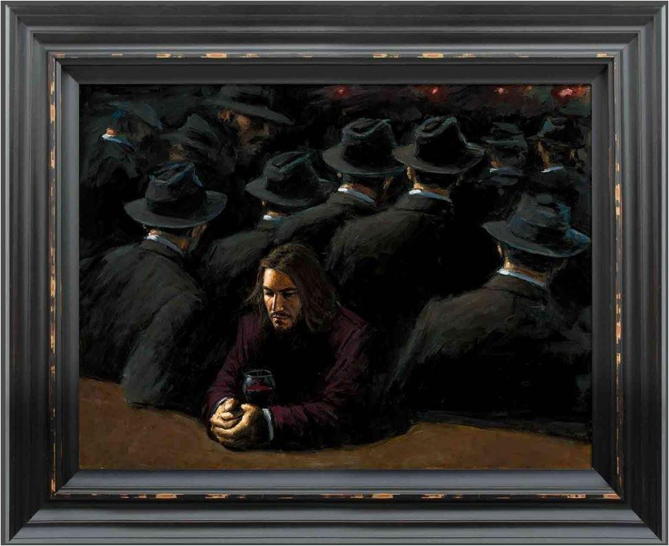 Untitled II Young by Fabian Perez - canvas art print LPEZ1228