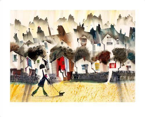 April Showers by Sue Howells - Limited Edition art print SHE006