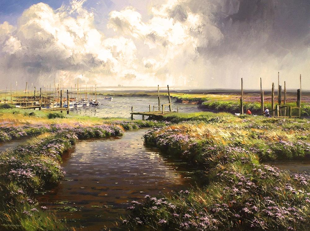 Passing Storm by Rex Preston - landscape art print