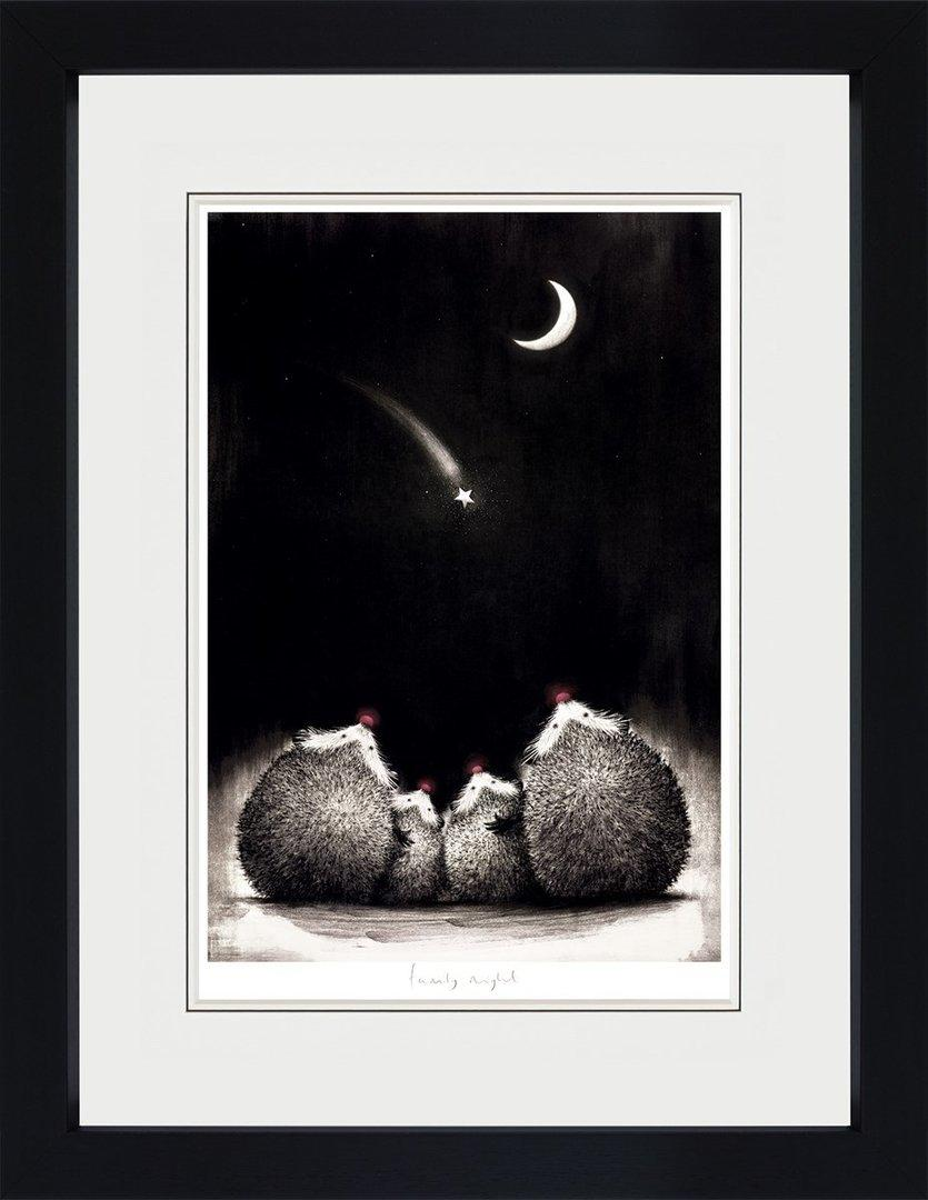 Family Night by Doug Hyde - Limited Edition art print ZHYD713