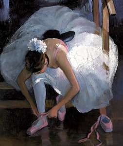 The Pink Slipper by Sherree Valentine Daines - canvas print ZDAI274