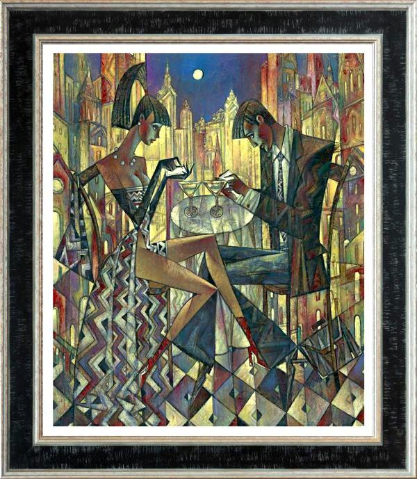 City Lights (Large) by Andrei Protsouk - canvas art print APE026L