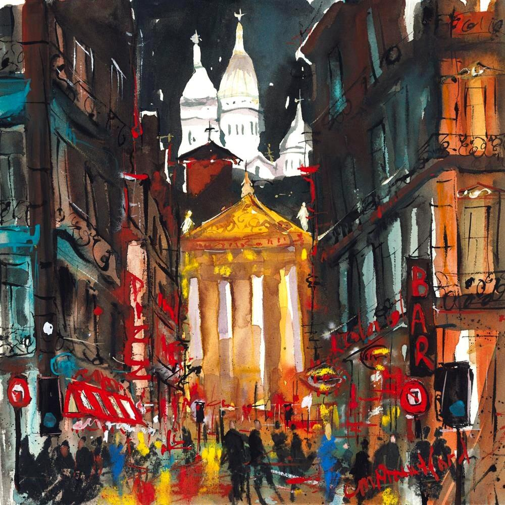 Sacre Coeur Paris by Carol Mountford - Limited Edition print CME005