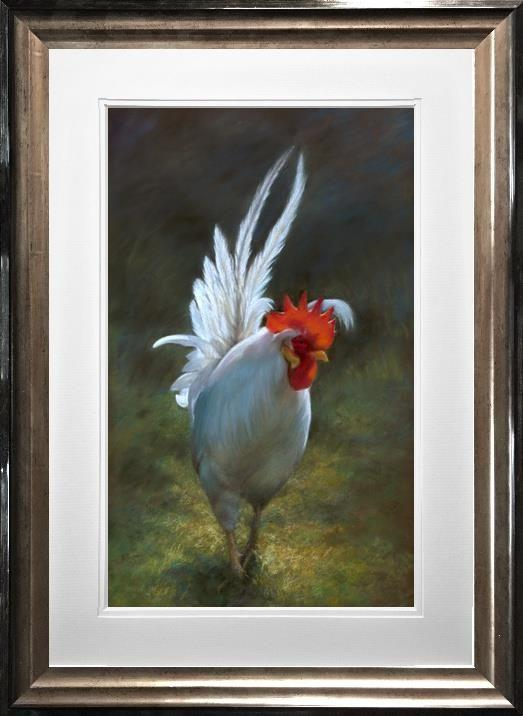 The Boss by Vivien Walters - Limited Edition print - cockerel VWE002
