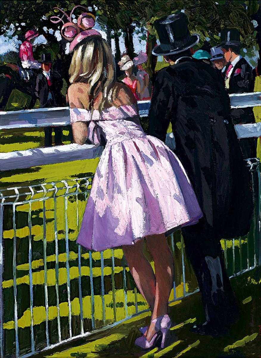 Vision in Pink by Sherree Valentine Daines - canvas art print ZDAI255