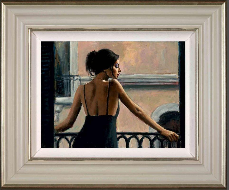 Balcony at Buenos Aires VI by Fabian Perez - canvas art print LPEZ1226