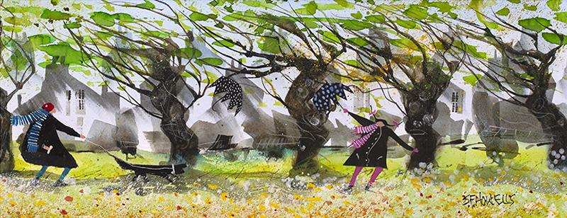 Hurry Up, It'll Soon be Summer by Sue Howells - Limited Edition art print