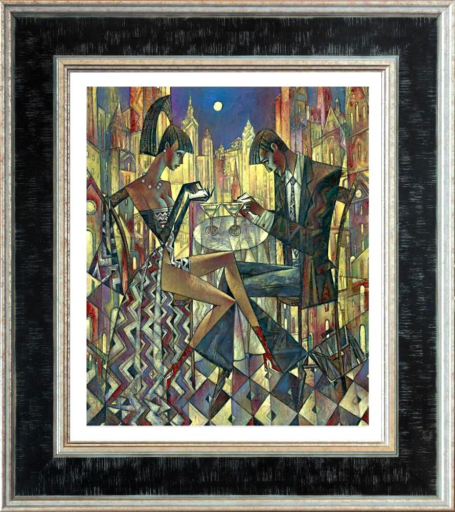 City Lights (Small) by Andrei Protsouk - canvas art print APE026S