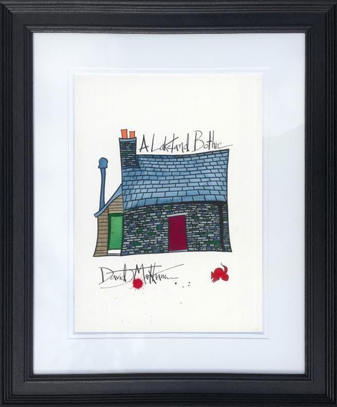 A Lakeland Bothie by Dave Markham - Limited Edition art print DME005