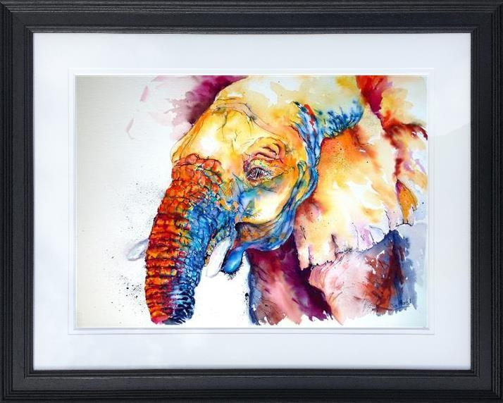 Nosey Nigel (small) by Jos Haigh - Limited Edition art print JGE004