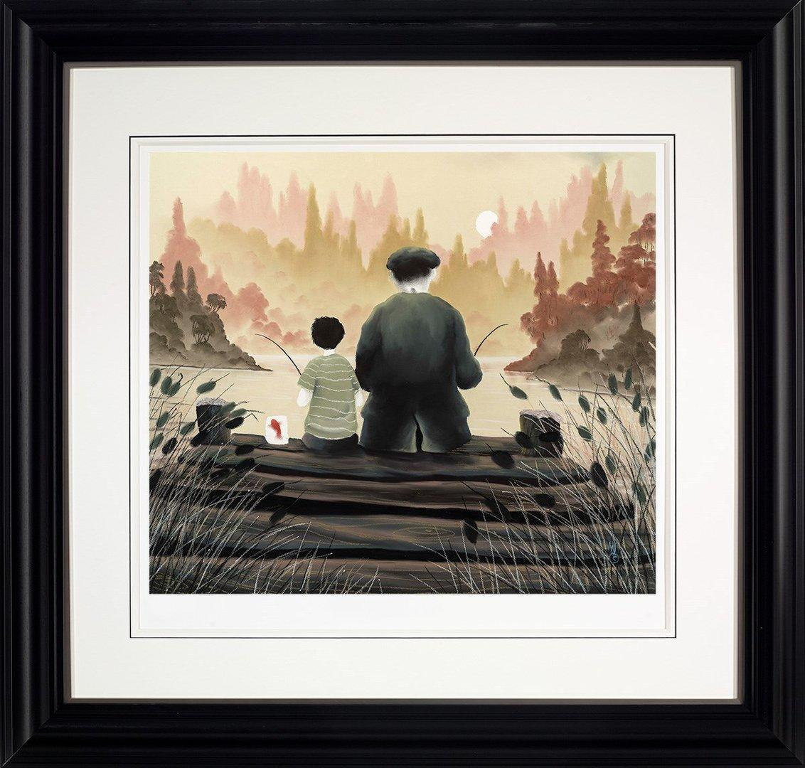 All Our Yesterdays by Mackenzie Thorpe - Limited Edition print LTHP031