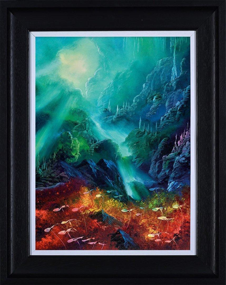Colours of the Deep by Philip Gray - canvas landscape print ZGRP094