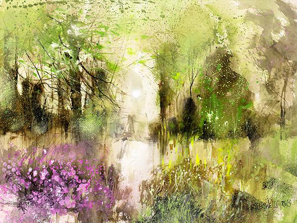 Here Comes Spring by Sue Howells - Limited Edition art print