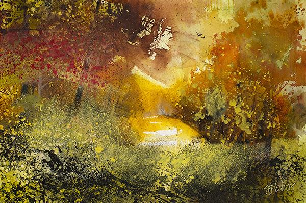 Autumn Glow by Sue Howells - Limited Edition art print