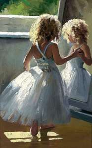 Pretty as a Picture by Sherree Valentine Daines - canvas print ZDAI275