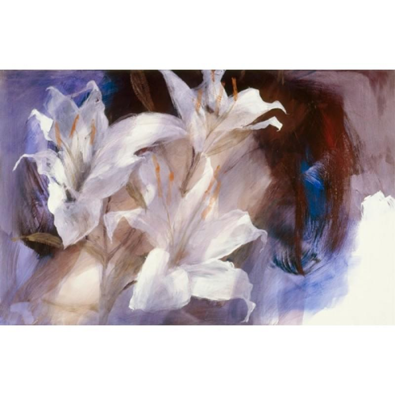 Lillies by Christine Comyn - canvas art print CCE002C