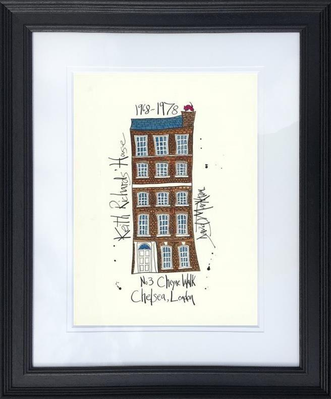 Keith Richards' House by Dave Markham - Limited Edition print DME016