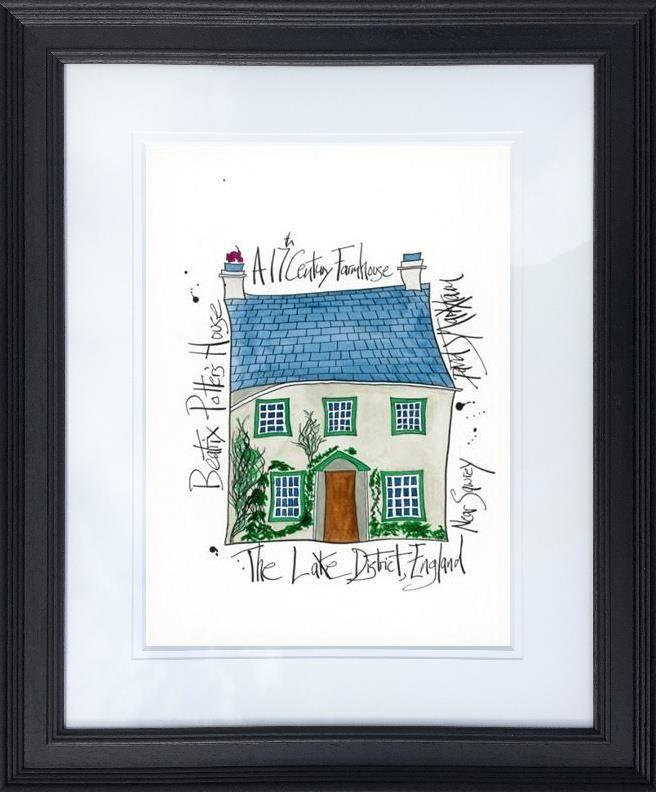 Beatrix Potter's House by Dave Markham - Limited Edition print DME001