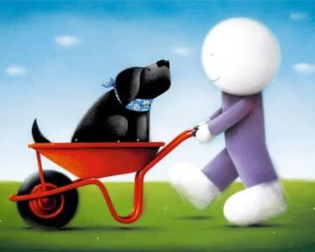 Daisy Trail by Doug Hyde - Limited Edition art print ZHYD591