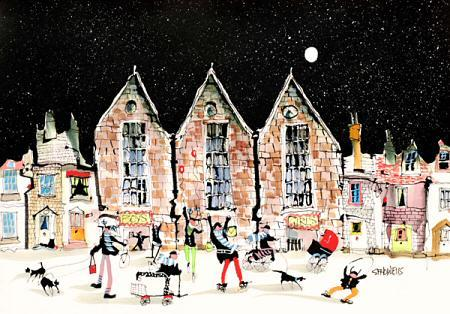 Night School by Sue Howells - Limited Edition art print