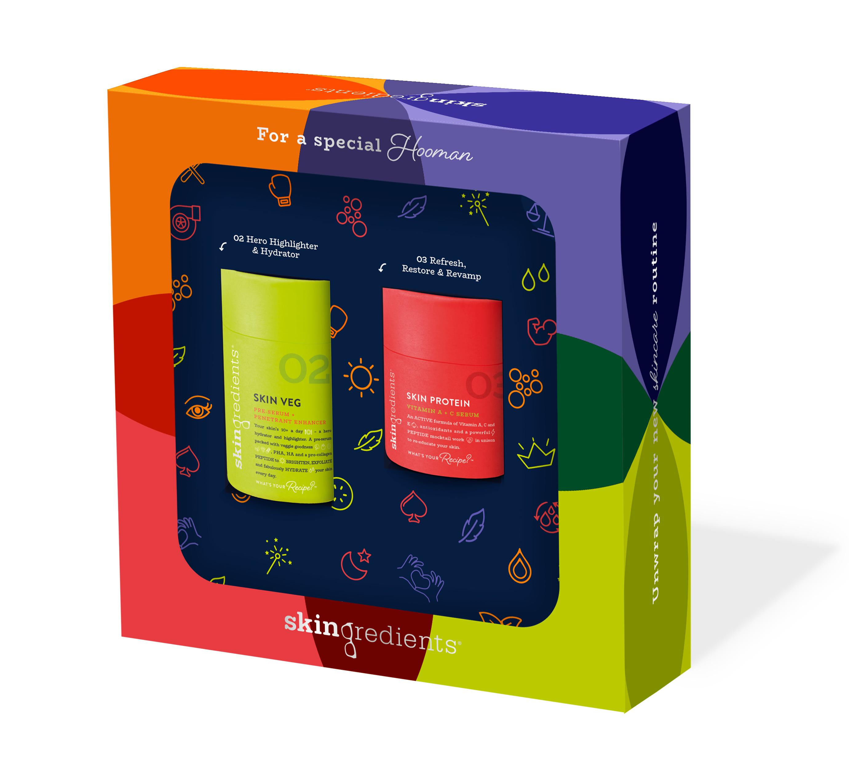 Skingredients Skin Veg Gift Pack