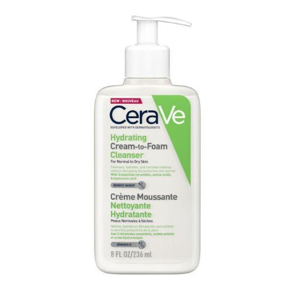 CeraVe Cream to Foam Hydrating Cleanser