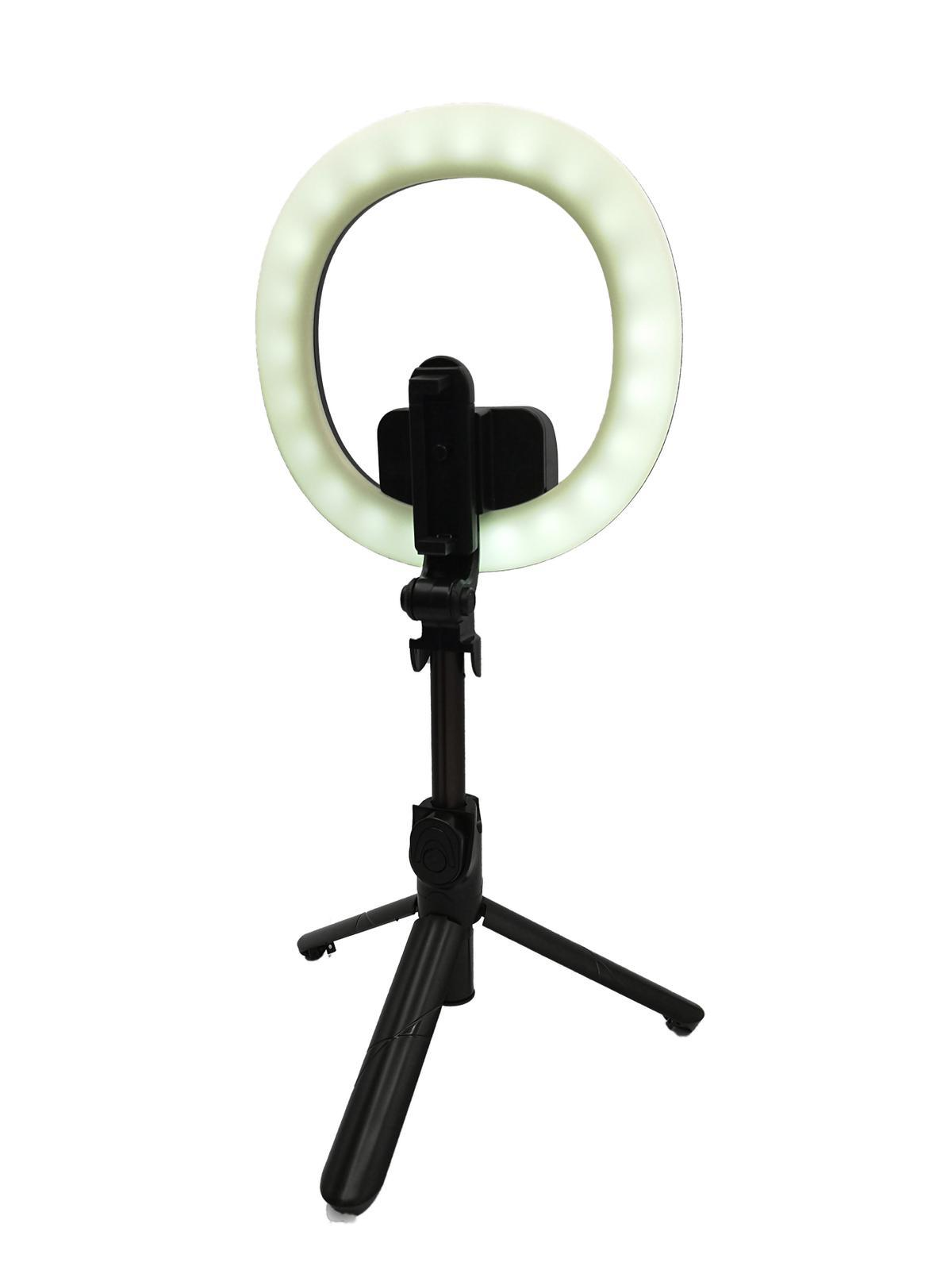 Selfie-Stick Portable Ring-light