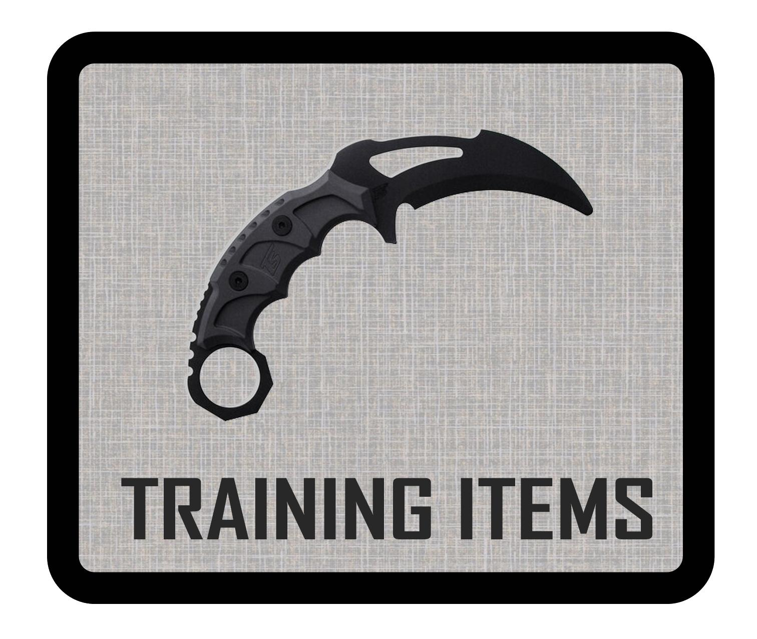TRAINING ITEMS
