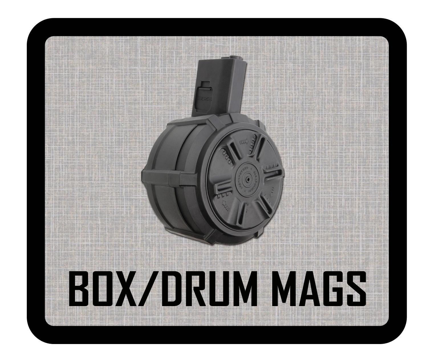 BOX / DRUM MAGS