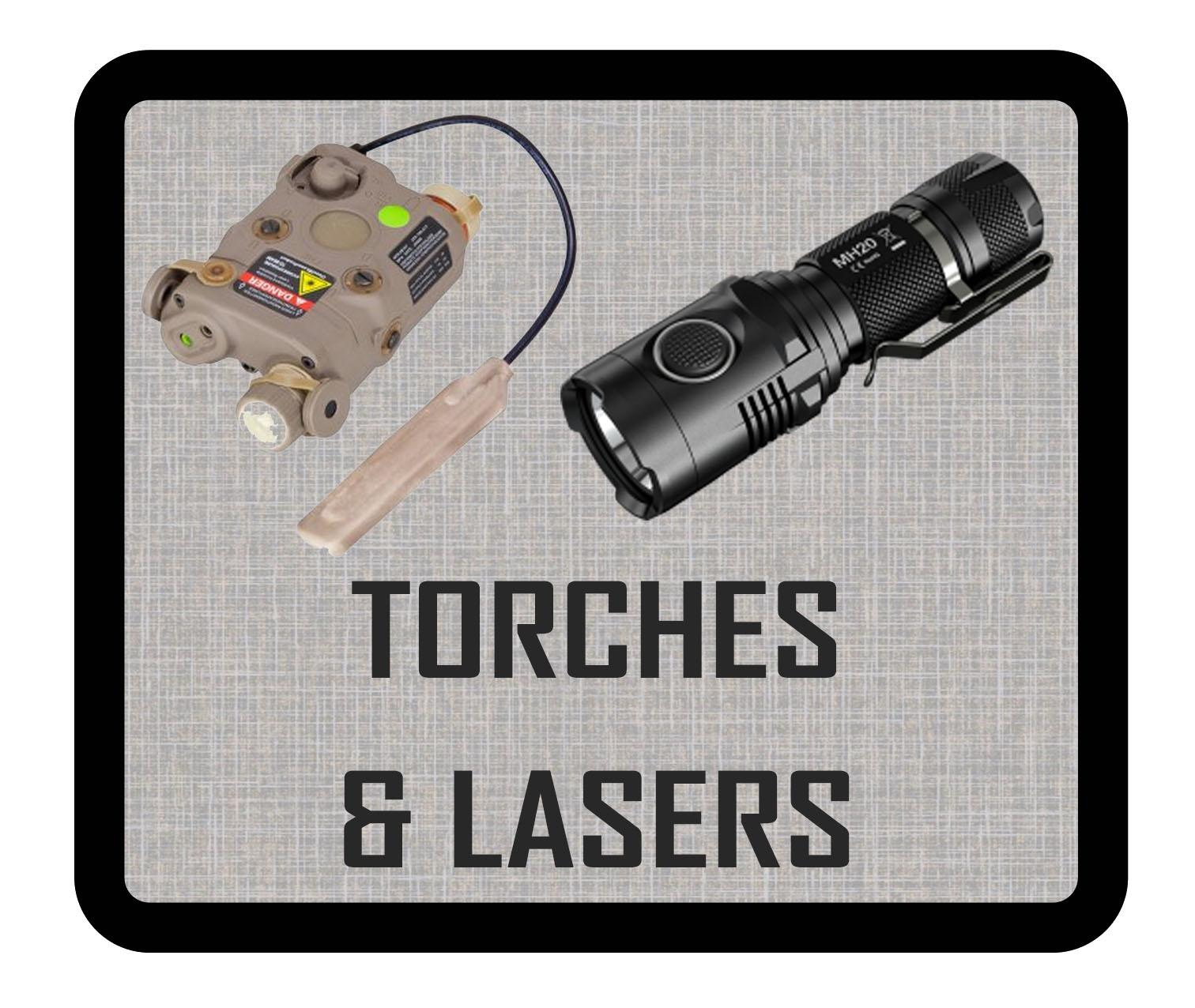TORCHES / LASERS
