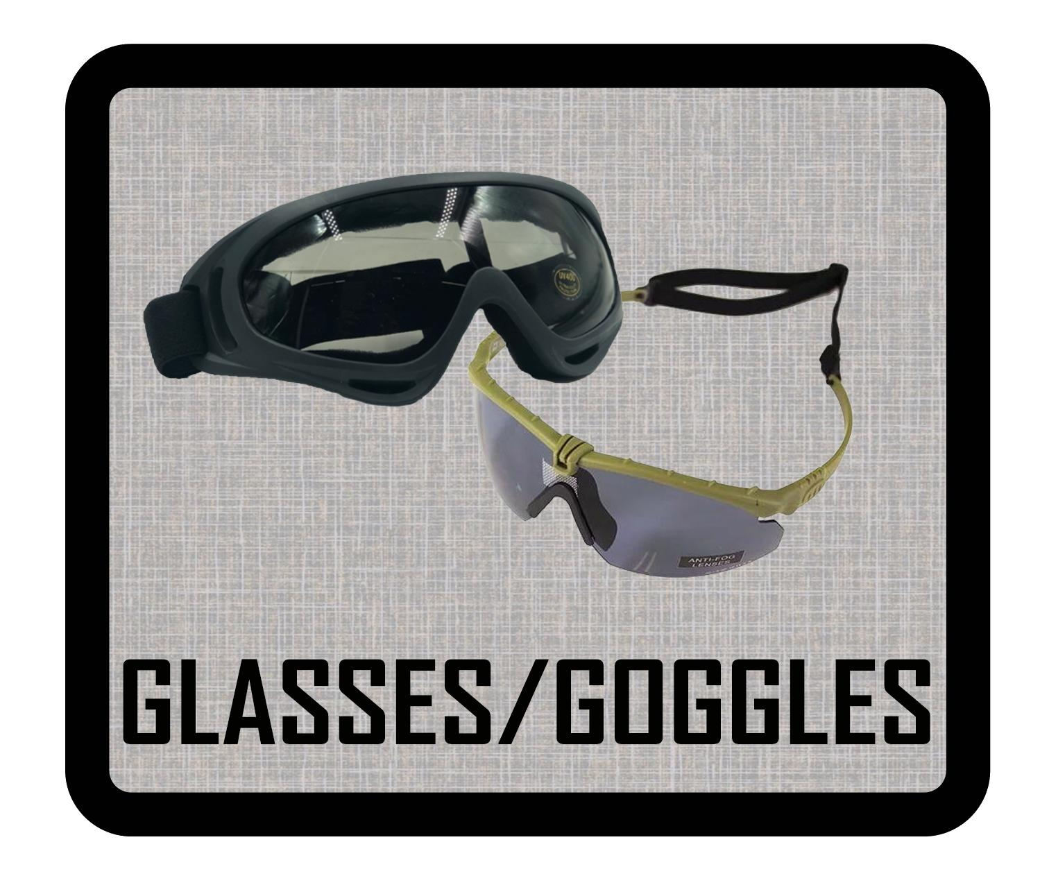 GLASSES / GOGGLES