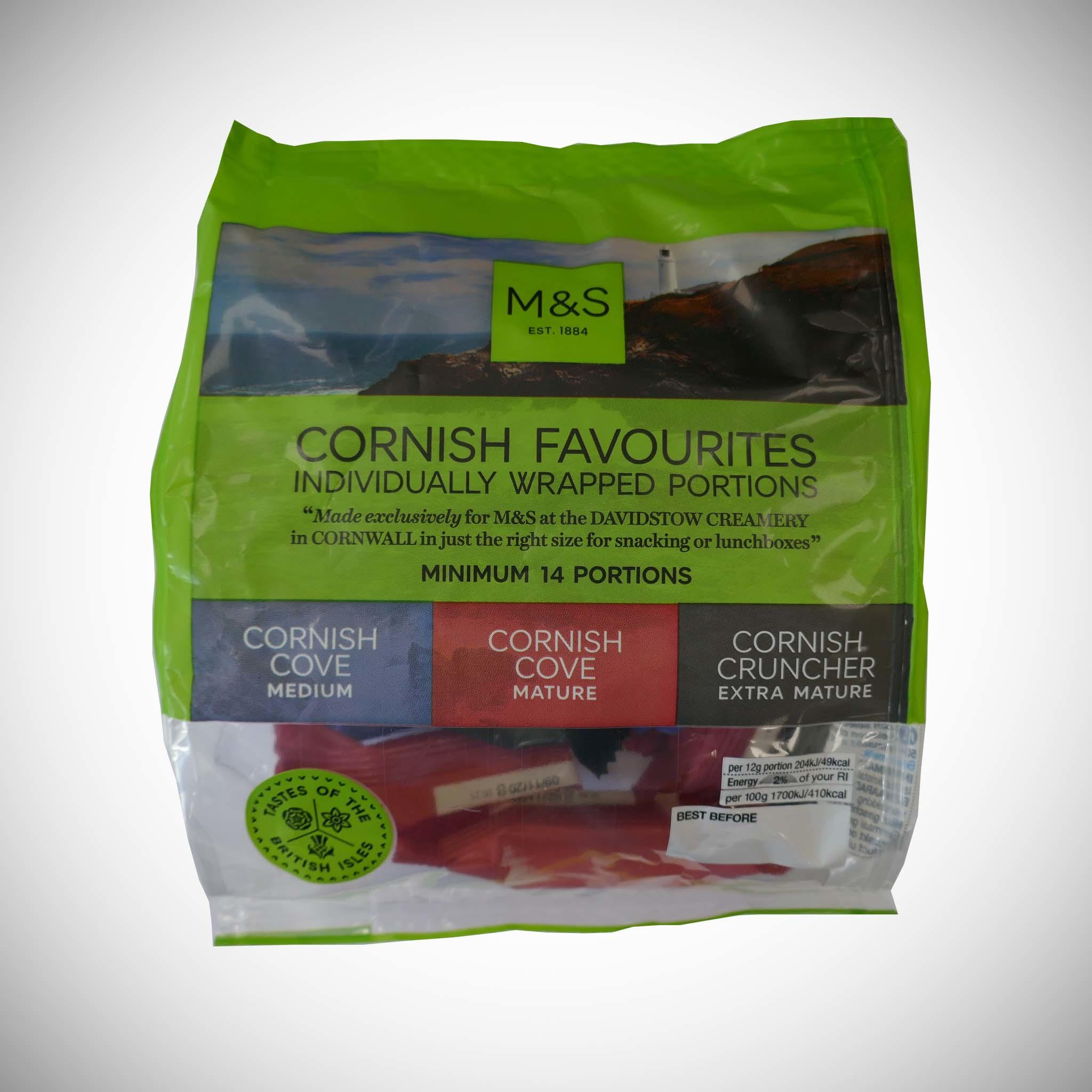 Cornish Cheddar Favourites 169.5g