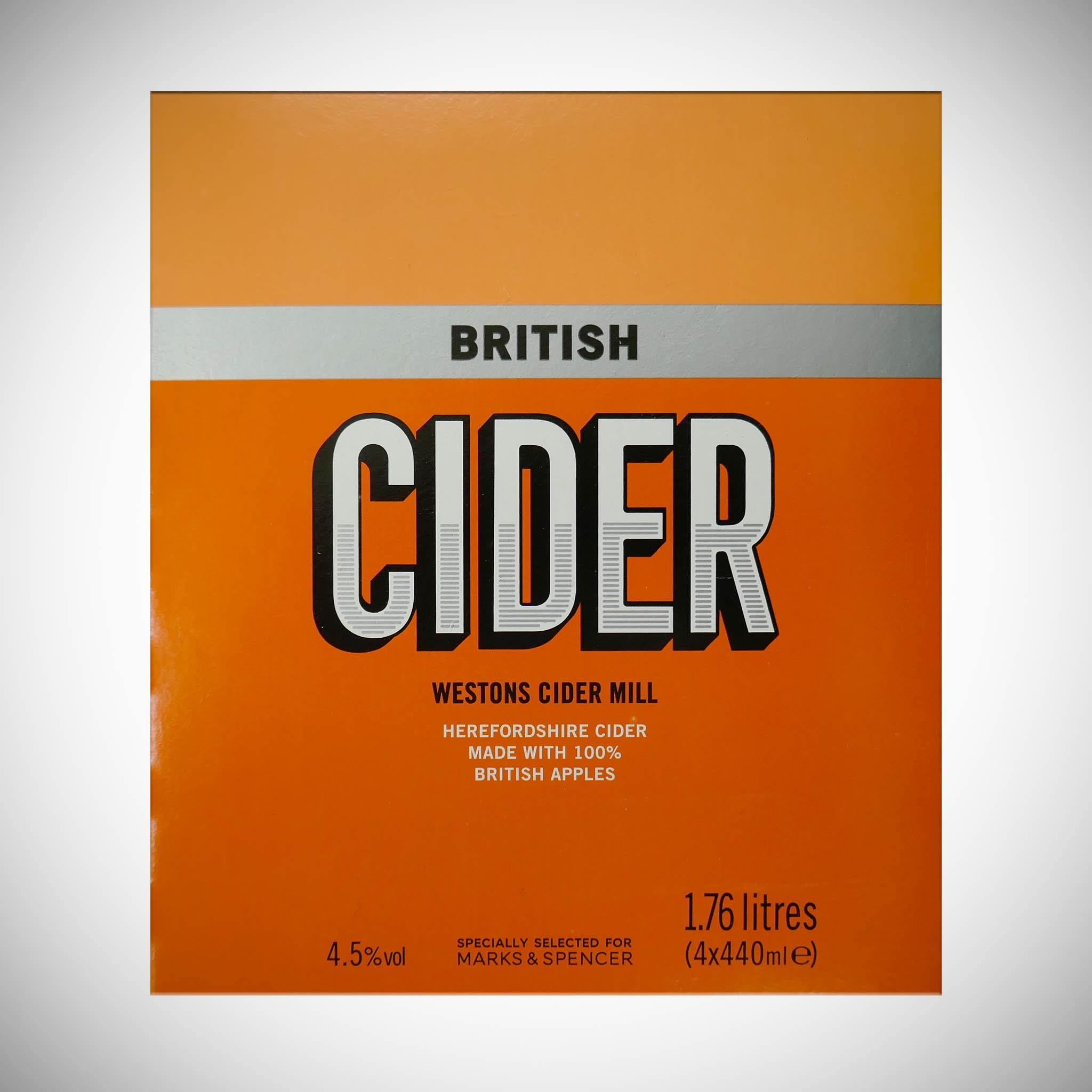 Herefordshire Cider x 4 440ml