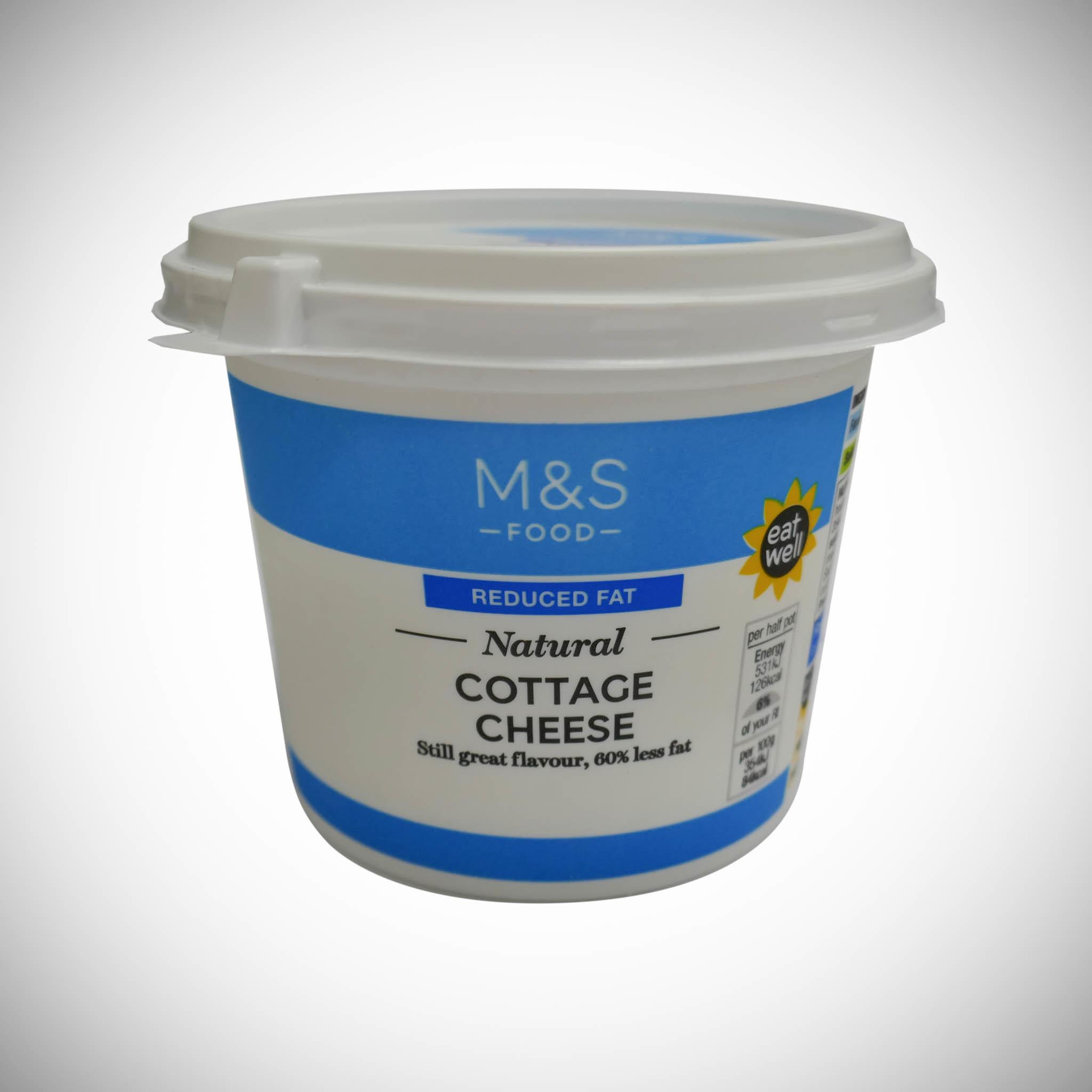 Low Fat Natural Cottage Cheese 300g
