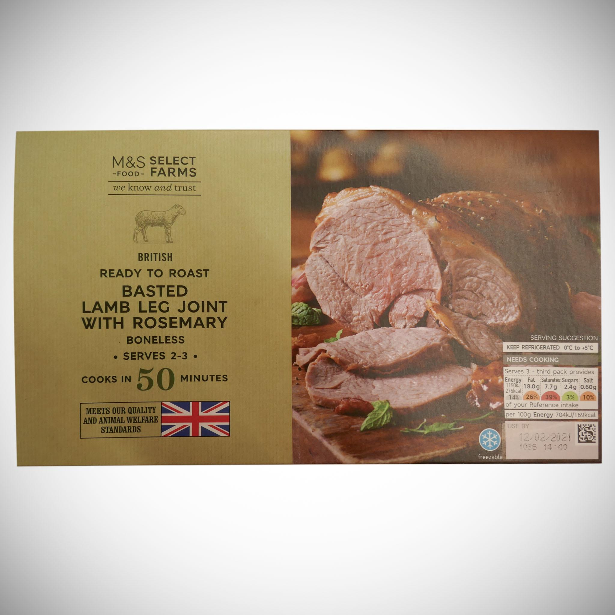 Lamb Roasting Joint 490g