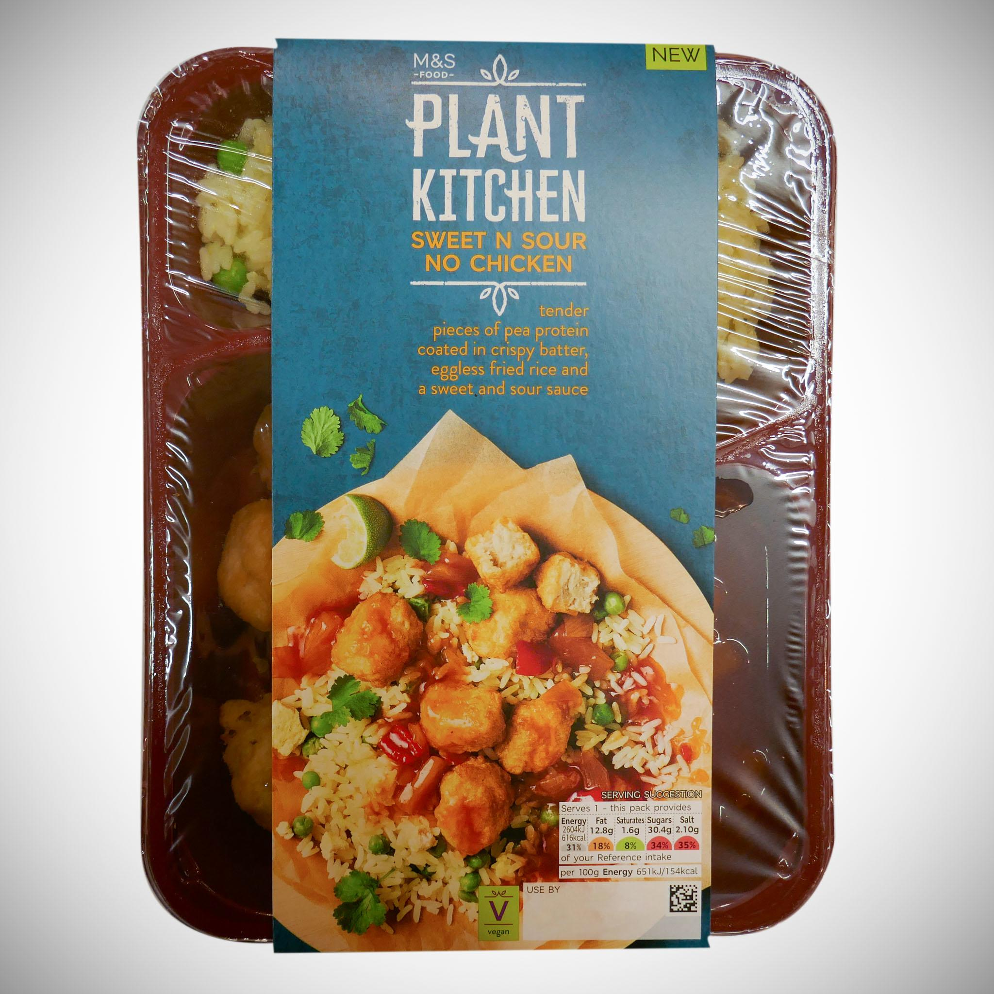 Plant Kitchen Sweet n Sour No Chicken 400g