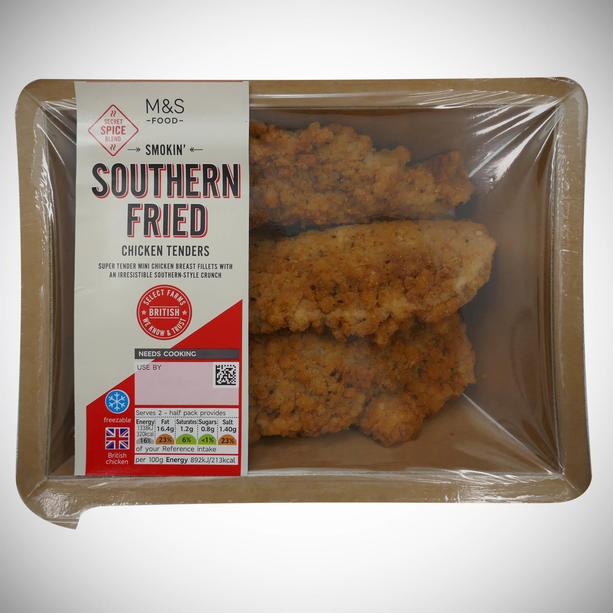 Southern Fried Chicken Tenders 300g