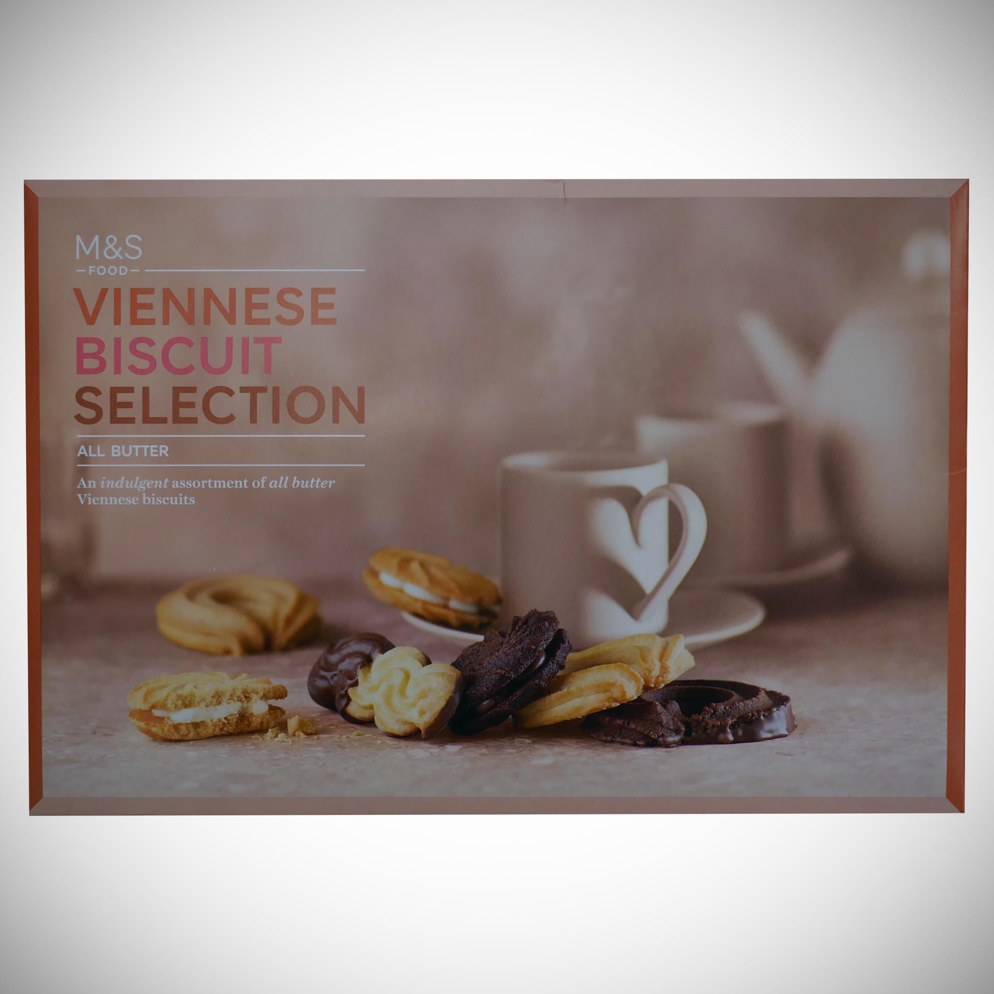 Viennese Biscuit Selection Carton 500g