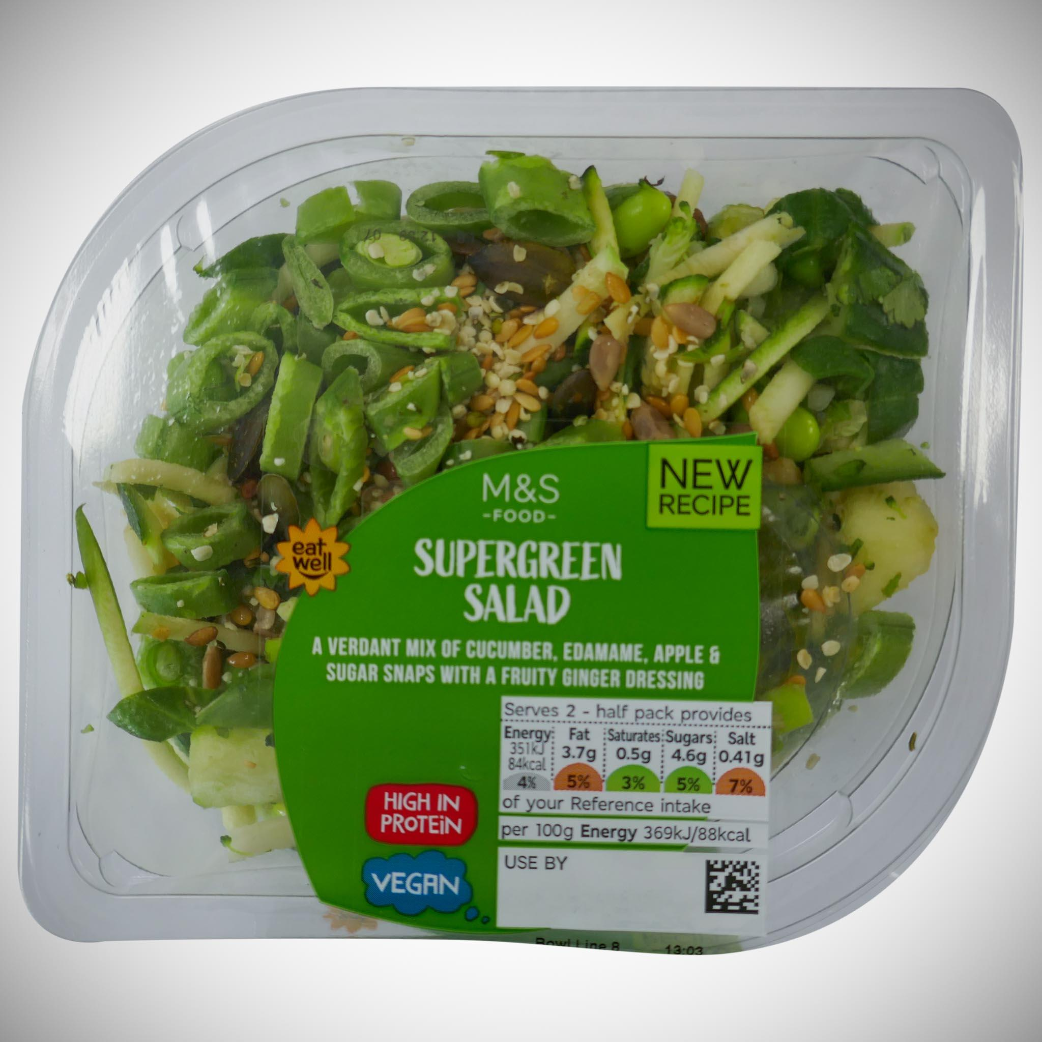 Supergreen Salad 190g