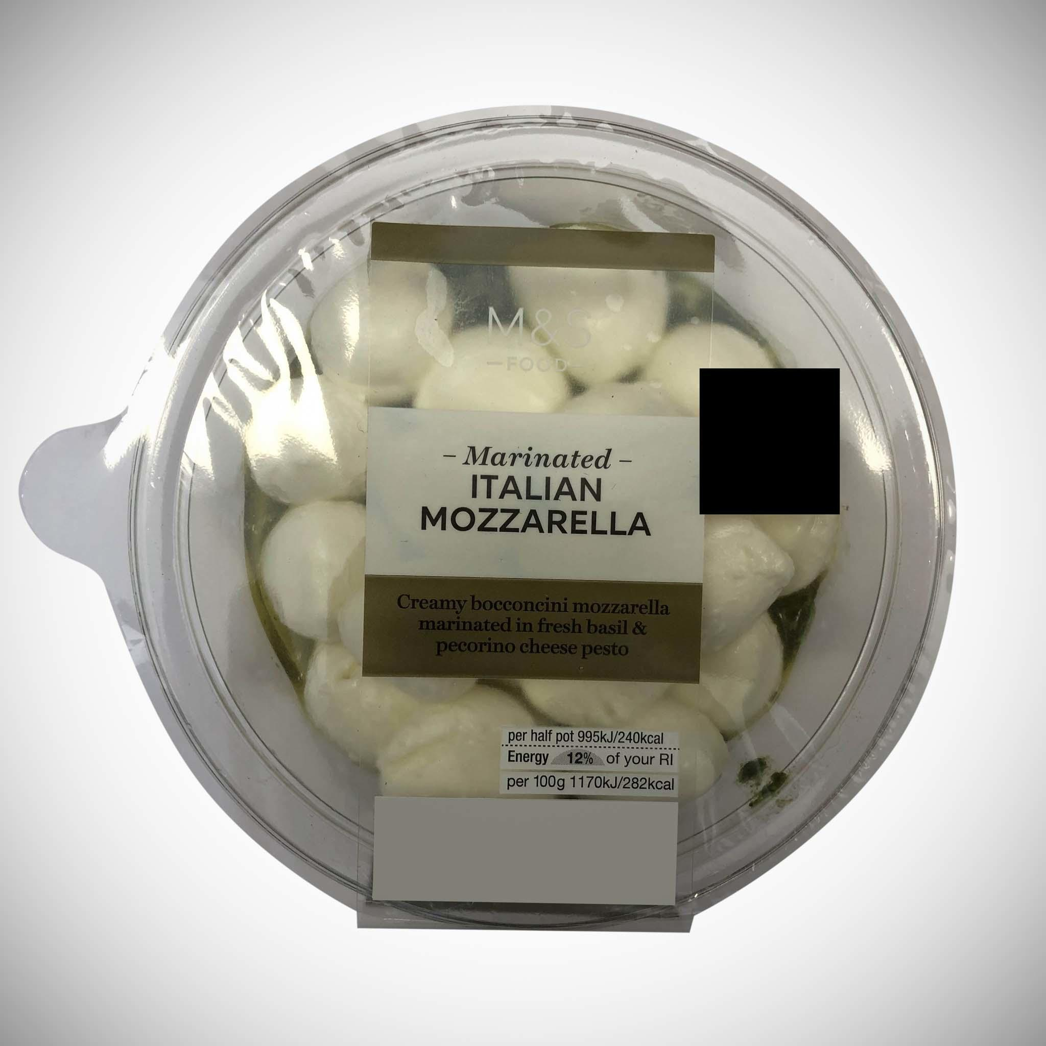 Marinated Italian Mozzarella