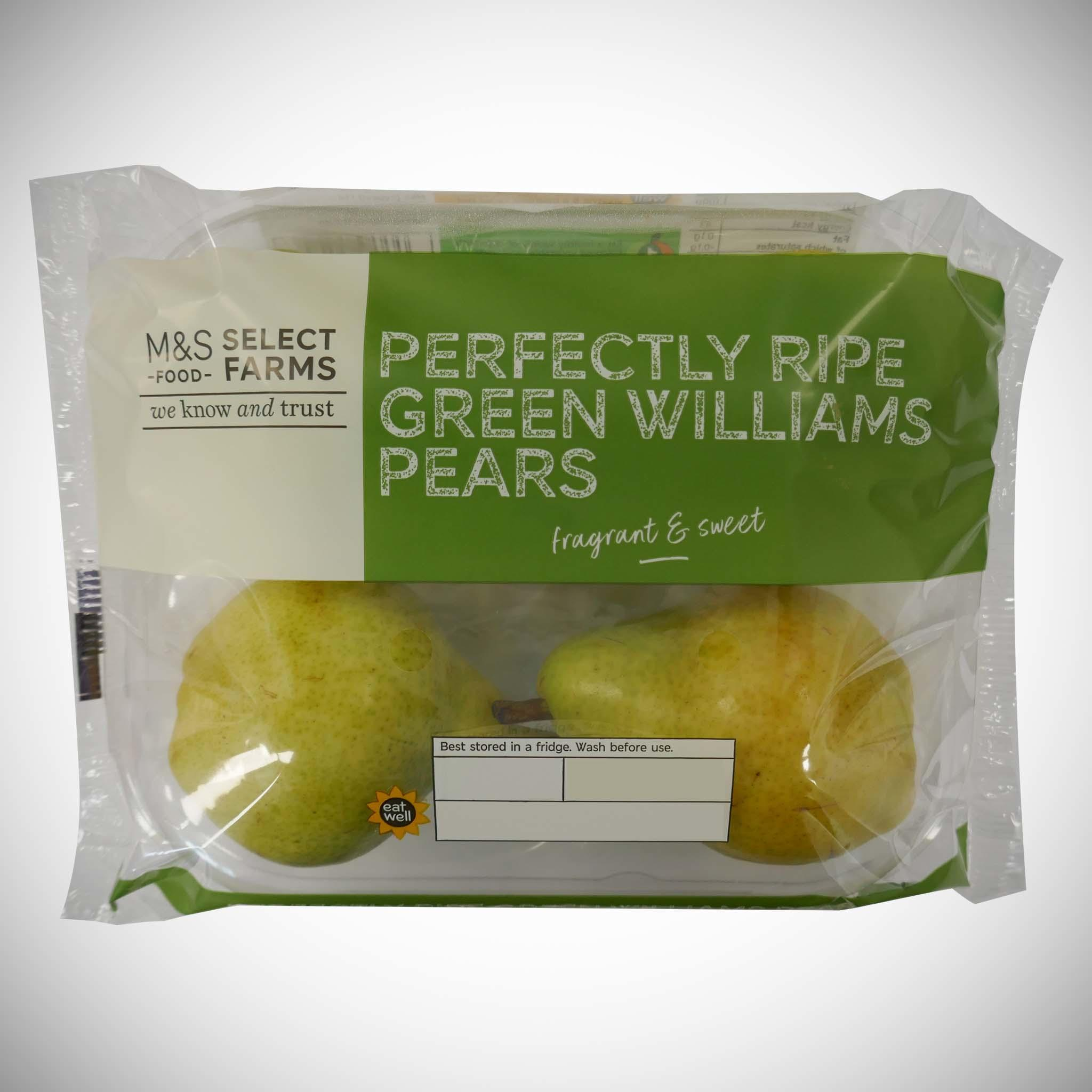Williams Pears x 4