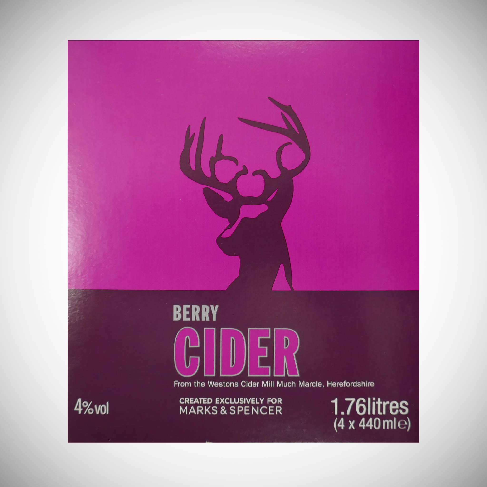 Berry Cider 4 x 440ml
