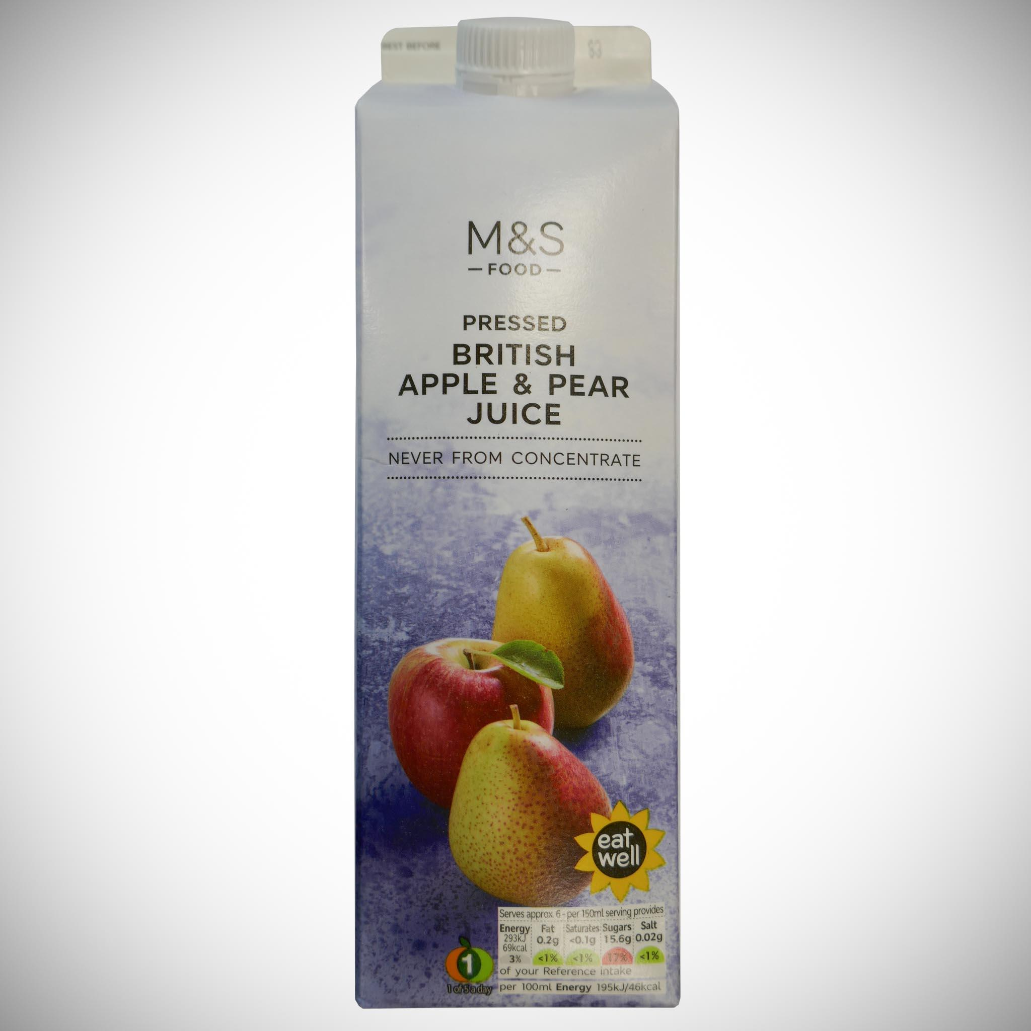 British Apple & Pear Juice 1l
