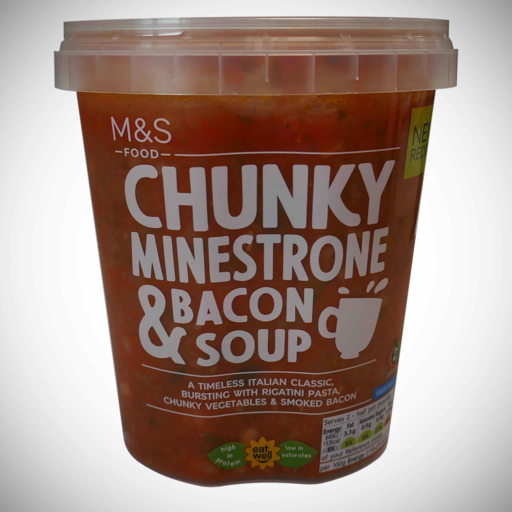 Minestrone Soup With Bacon 600g